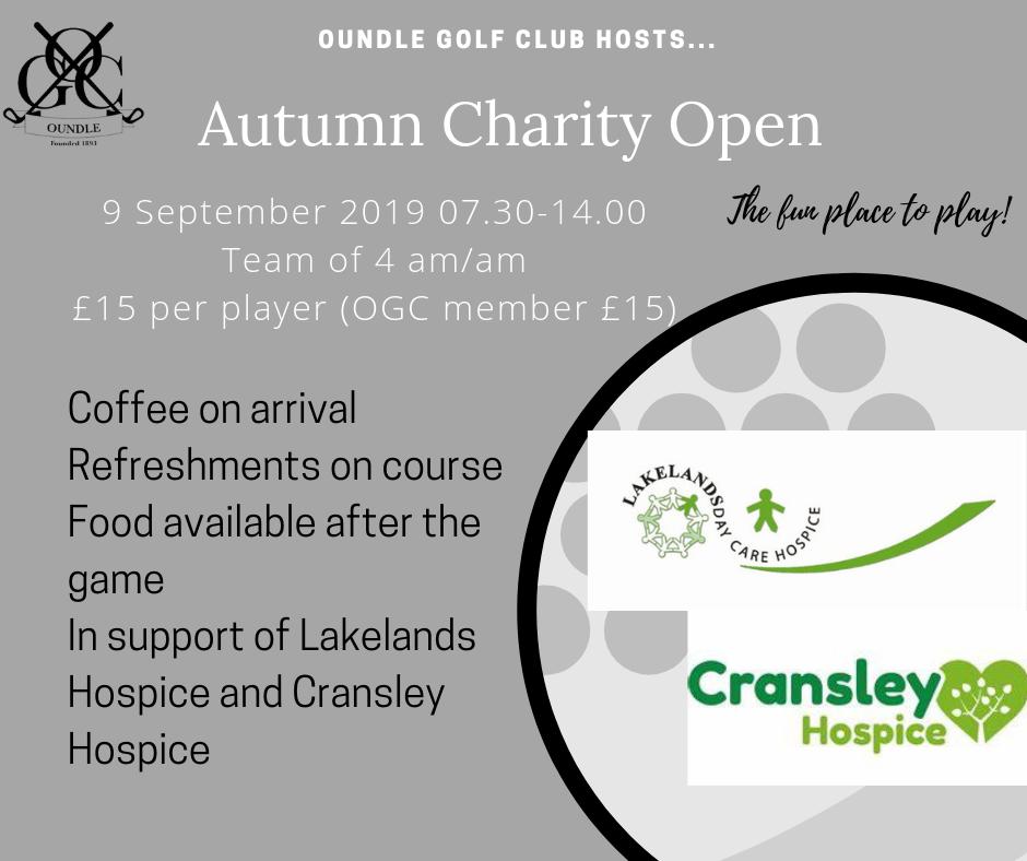 charity open