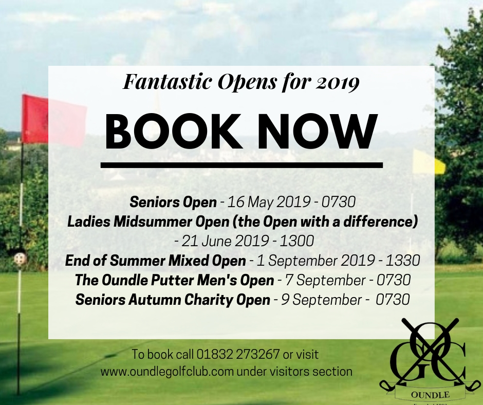 Oundle Golf Club opens 2019