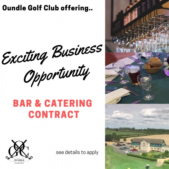 Oundle Golf Club catering contract