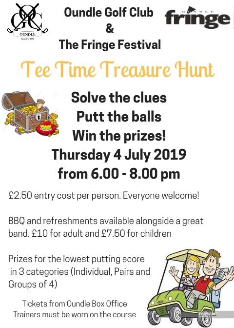 Oundle Golf Club Tee Time Treasure Hunt